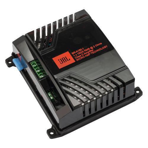 Amplificador Jbl Br-A 150.1 - 1 Canal - 150wrms (Tecnologia Micro Amp)