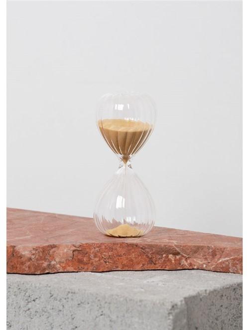 Ampulheta de Vidro 5 Minutos Transparente Pequena
