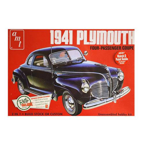 Amt 919 1941 Plymouth Coupe 1/25