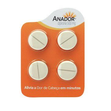 Anador 500mg 4cpr