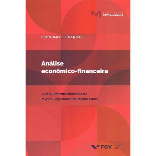 Analise Economico-financeira - 01ed/18
