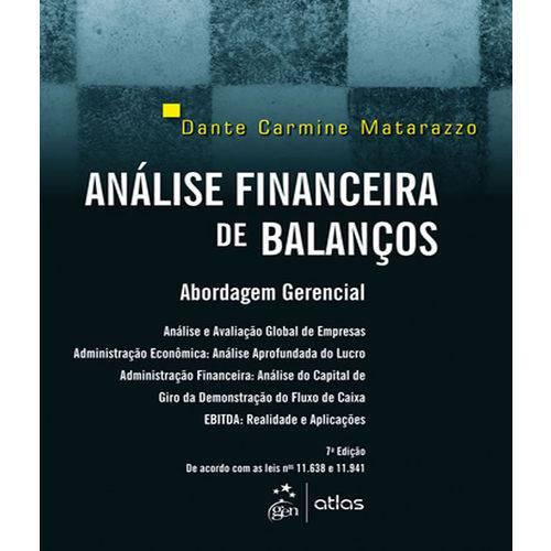 Analise Financeira de Balancos - 07 Ed