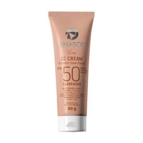 Anasol -CC Cream Facial Fps 50 60 G