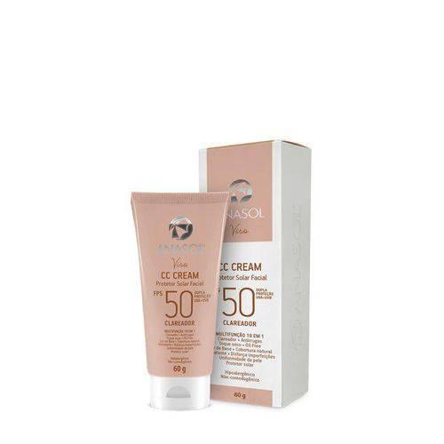 Anasol - Cc Cream Facial Fps 50 - 60 G