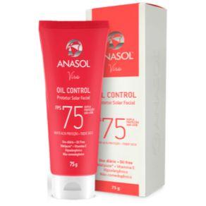 Anasol Facial Oil Control Fps 75 75 G