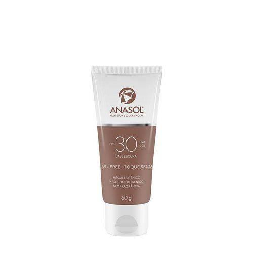 Anasol Protetor Solar Facial Base Escura Fps 30