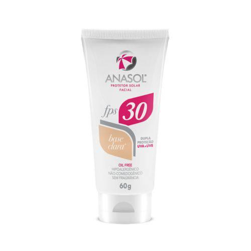 Anasol Protetor Solar Facial Fps 30 Base Clara
