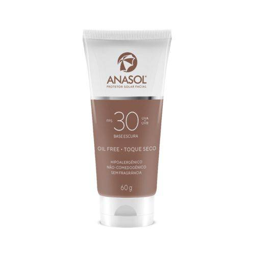 Anasol Protetor Solar Facial Fps 30 Base Escura