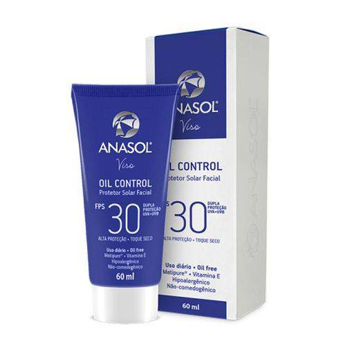 Anasol Protetor Solar Facial Oil Control Fps 30