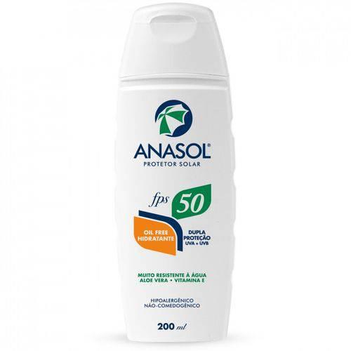 Anasol Protetor Solar Fps 50 200ml