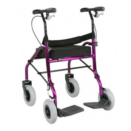Andador com Assento - Jaguaribe Baxmann - Violeta