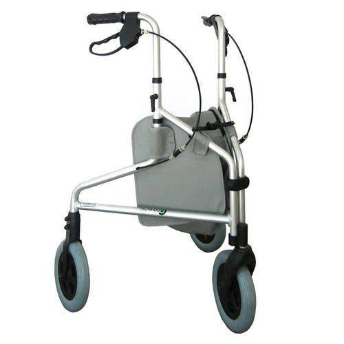 Andador Ortopédico para Idoso com 3 Rodas