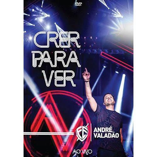 Andre Valadao - Crer para Ver ao Vivo - Dvd Nacional