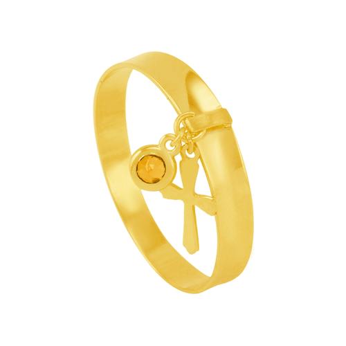 Anel em Ouro 18K com Pingente e Pedra - AU5964