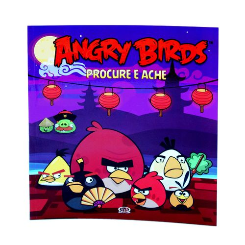 Angry Birds - Procure e Ache - Brochura - Rovio Books