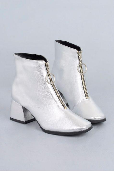 Ankle Boot Chloe Mundial SINT - PRATA 34