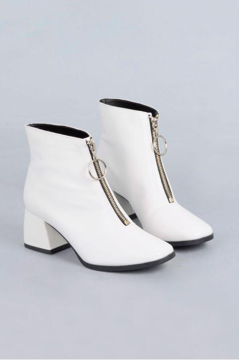 Ankle Boot Chloe Mundial VERNIZ - OFF WHITE 35