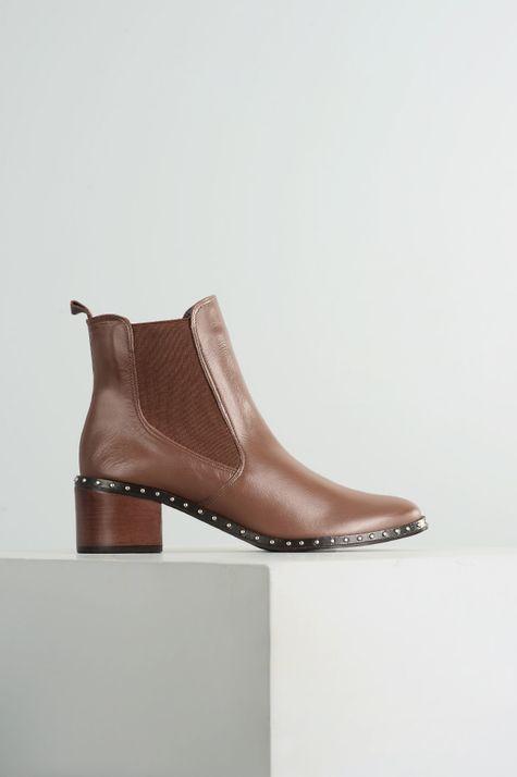 Ankle Boot Feminino Gardner Mundial CR - CAFE 35