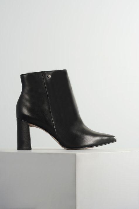 Ankle Boot Feminino Tandy Tanara CR-PRETO 35