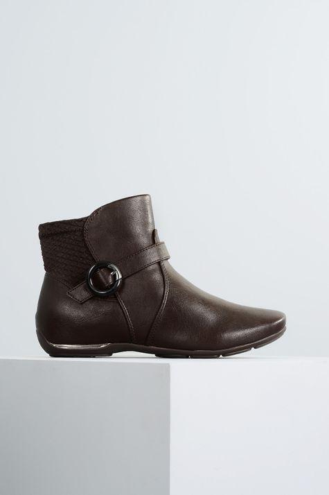 Ankle Boot Flat Carmine Comfort Flex DIVERSOS CAFE 34
