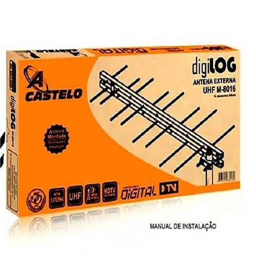 Antena Digital Castelo Externa 16 Elementos M-8016