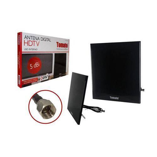 Antena Digital Hdtv Interna 5 Dbi Fixação na Parede Mta-3006 Mta-3006 Tomate