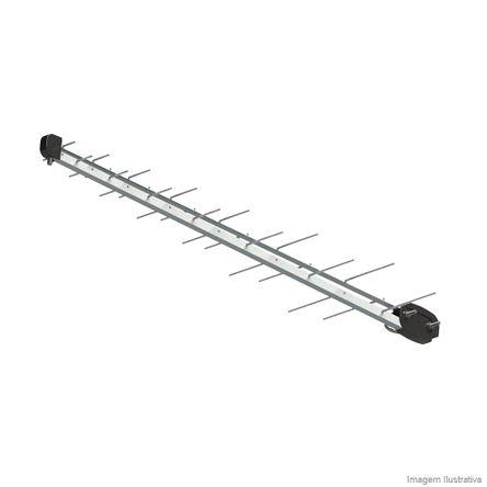 Antena LOG Digital/HDTV/UHF SL2800 Brasforma