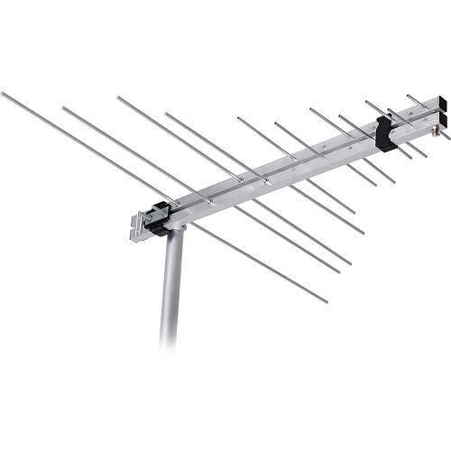Antena Log Externa Vhf/Uhf/Fm e Hdtv Lvu-11plus, Aquário