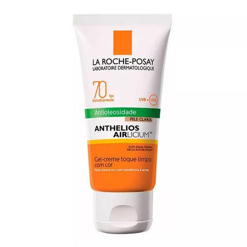 Anthelios Airlicium Ant Gel-creme C/cor Pele Clara Fps70 50g