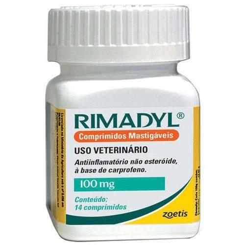 Anti-INFLAMATÓRIO MASTIGÁVEL Rimadyl 100MG 14 Comprimidos
