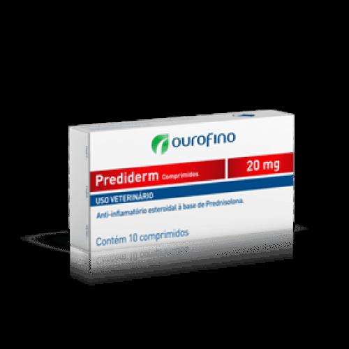 Anti-inflamatório Ouro Fino Prediderm com 10 Comprimidos 20mg