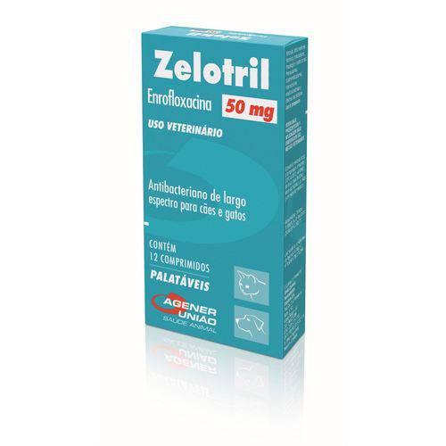 ANTIBIÓTICO de Uso VETERINÁRIO Zelotril 50 Mg para CÃES e Gatos