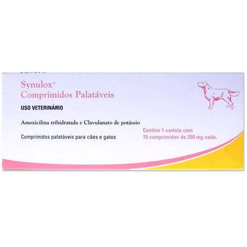 Antibiótico Synulox 10 Comprimido