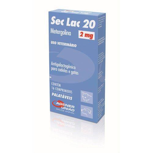 Antigalactogênicos 16 Comp. Agener União Sec Lac 2mg