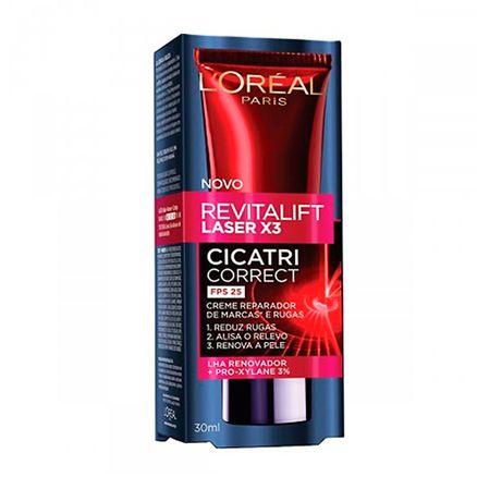 Antiidade L'oréal Revitalift Laser X3 Cicatri Corretc FPS 25 30ml