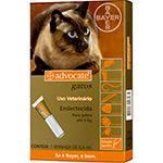 Antipulgas para Gatos Advocate Todas as Raças Até 4kg com Aplicador