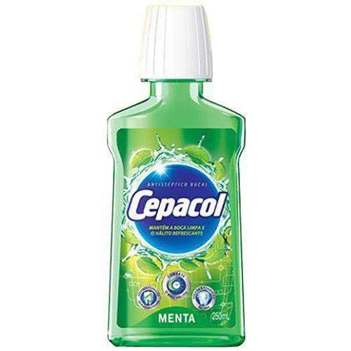 Antisséptico Bucal Cepacol Menta - 250ml