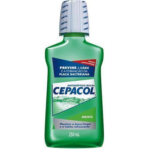 Antisséptico Bucal Cepacol Menta 250ml