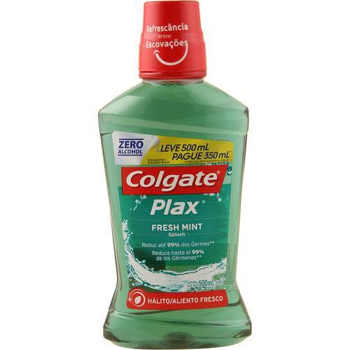 Antisséptico Bucal Colgate Plax Fresh Mint 500ml