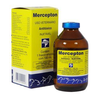 Antitóxico Mercepton Bravet Injetável 100ml