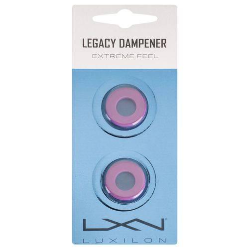 Antivibrador Luxilon Legacy Lilás - Embalagem com 2 Unidades