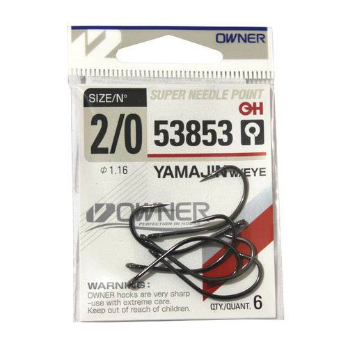 Anzol Owner Yamajin Maruseigo 53853 #2/0 - 6pç