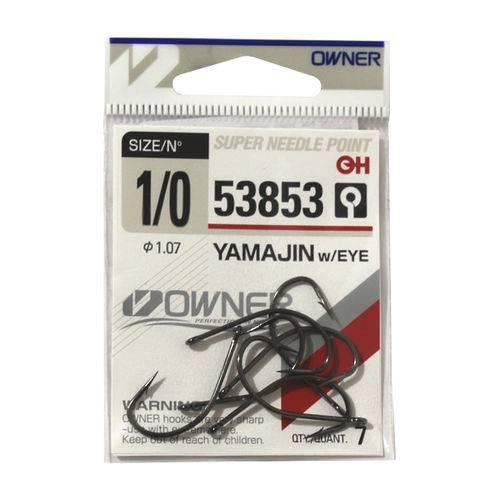 Anzol Owner Yamajin Maruseigo 53853 #1/0 - 7pç