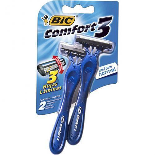 Ap Barb Bic Comfort3 Sm 2un P Nor Cab Mov