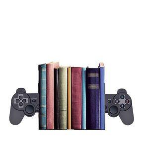Aparador de Livros Joystick Playstation Geek