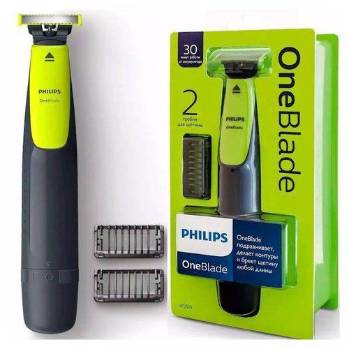 Aparador Pelo BarbEADOR Depilador Eletrico Oneblade Philips