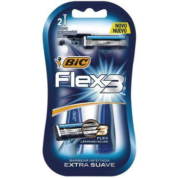 Aparelho de Barbear Bic Confort 3 Flexivel 2 Unidades