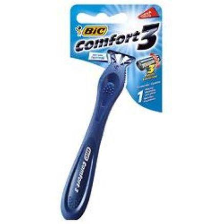 Aparelho de Barbear Bic Confort3 Pele Normal 1 Unidade
