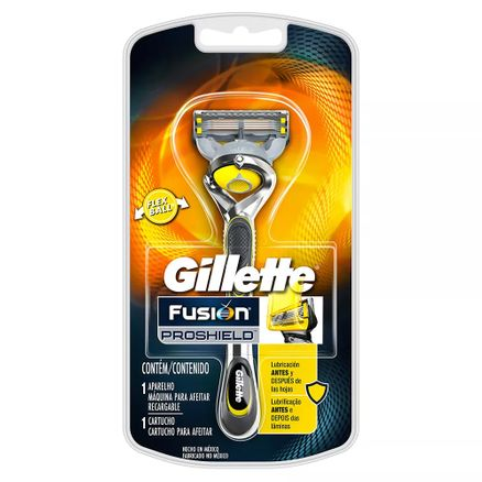 Aparelho de Barbear Gillette Fusion Proshield 1 Unidade + 1 Cartucho