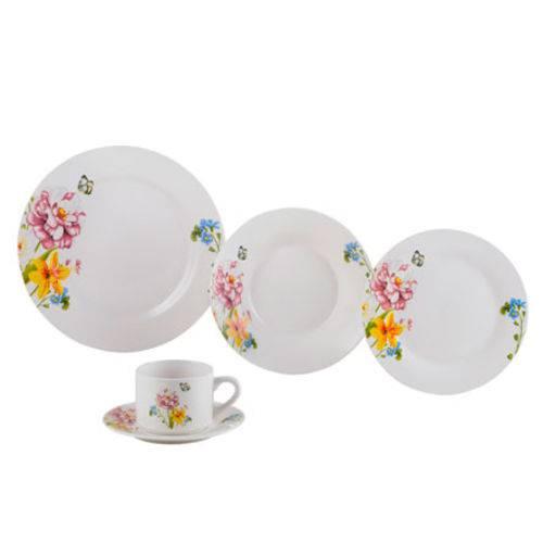 Aparelho de Jantar de Porcelana Summer 20 Peças